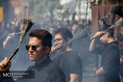 عزاداری+ظهر+عاشورای+حسینی+در+محله+قلهک