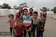 کمپ های اسکان موقت سیل زدگان خوزستان