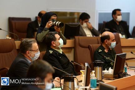 جلسه قرارگاه عملیاتی ستاد ملی مبارزه با کرونا - ۱۹ آبان ۱۳۹۹