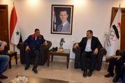 دیدار عباس جدیدی با رییس کمیته المپیک سوریه