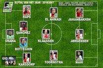 ستاره ایرانی در تیم منتخب لیگ هلند