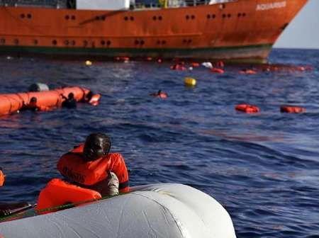 نجات 8هزارو پانصد پناهجو در 48 ساعت اخیر در دریای مدیترانه