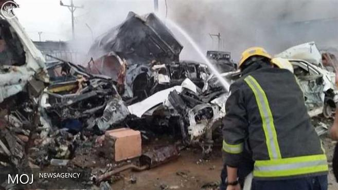 هلاکت هفت نظامی سعودی در حملات موشکی یمن