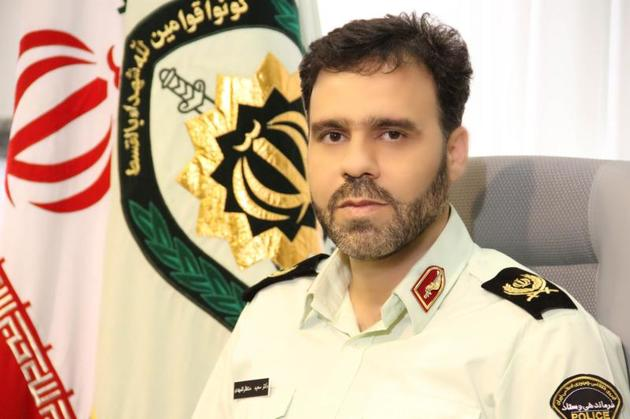 سردار منتظرالمهدی از رئیس مبارزه با مواد مخدر مرزبانی هرمزگان عیادت کرد