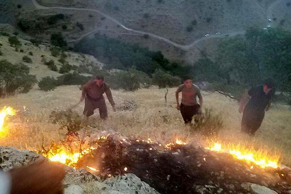 وقوع چهار آتشسوزی در شهرستانهای گلستان