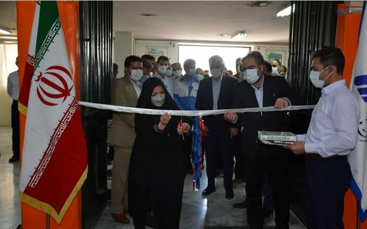 مرکز واکسیناسیون عمومی کارکنان فولاد آلیاژی ایران افتتاح شد