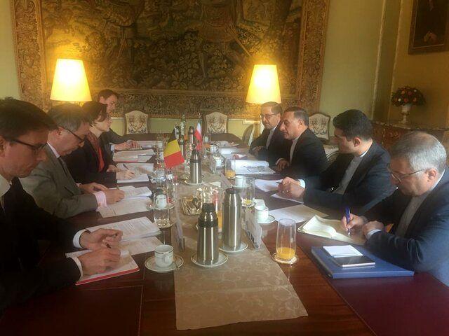 اولین دور مذاکرات سیاسی ایران و بلژیک برگزار می شود