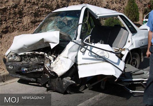 تصادف دو دستگاه سواری در محور زانوگه - اسلامآباد ۵ کشته برجای گذاشت