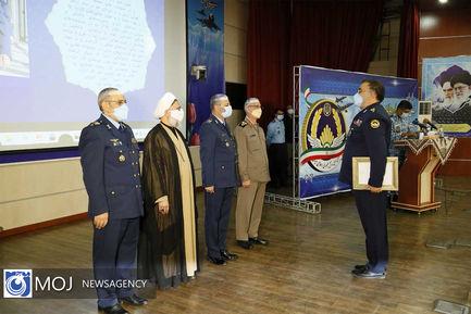 تکریم و معارفه فرمانده نیروی هوایی ارتش
