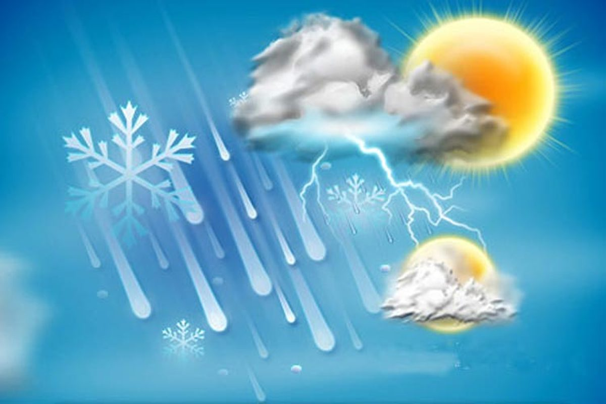 افزایش ۴ تا ۱۲ درجهای دمای هوا در کشور/ ورود سامانه بارشی جدید از پنچشنبه