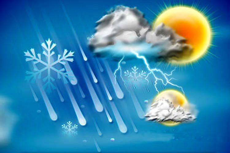 اطلاعیه هواشناسی درباره وقوع رگبار و رعد و برق در کشور