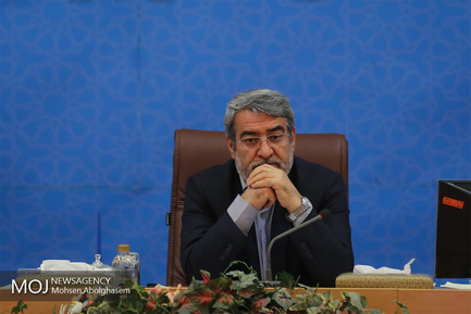 عبدالرضا رحمانی فضلی وزیر کشور