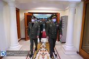 دیدار وزیر دفاع تاجیکستان و امیر حاتمی وزیر دفاع کشورمان