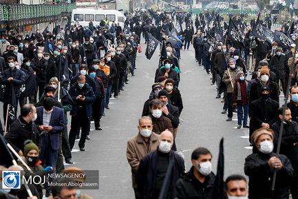 اجتماع فاطمیون در میدان هفت تیر