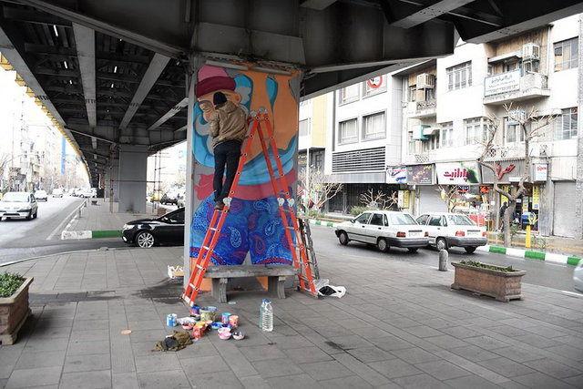 هنرمندان برای بهار مشغول کارند