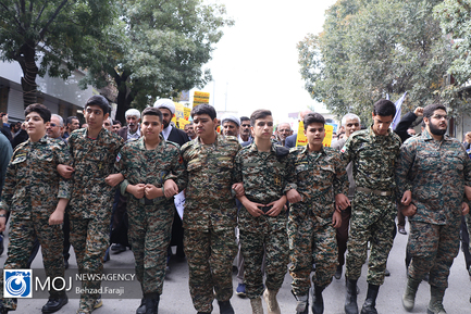 راهپیمایی روز ۱۳ آبان ۱۳۹۸ در کرمانشاه