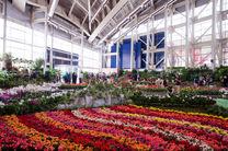 افتتاح هفدهمین نمایشگاه گل و گیاه با حضورشرکت کننده های داخلی و خارجی