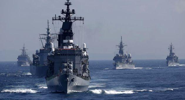 ژاپن و آمریکا رزمایش دریایی سالانه خود را آغاز کردند