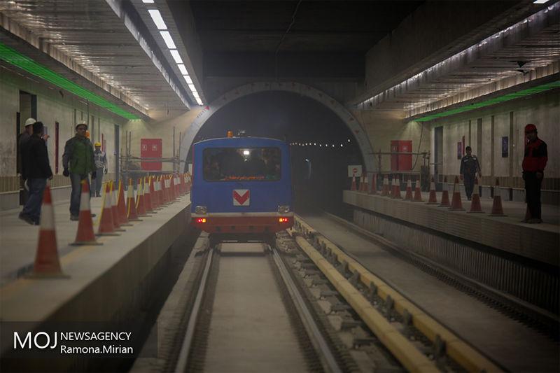 سرفاصله حرکت قطارها در خط 3 به 9 دقیقه رسید