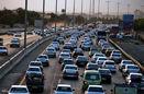 ترافیک نیمه سنگین در کرج - چالوس