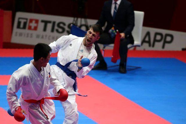 مدال نقره بر گردن امیر مهدی زاده/ دومین نقره کاراته در بازیهای آسیایی