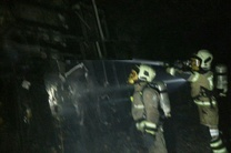 جزئیات آتش سوزی در یک مجتمع تجاری در بلوار ارتش