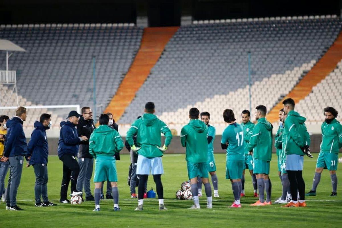 پخش زنده بازی دوستانه تیم ملی فوتبال ایران و بوسنی از شبکه سه سیما
