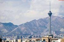 کیفیت هوای تهران در 23 خرداد سالم است