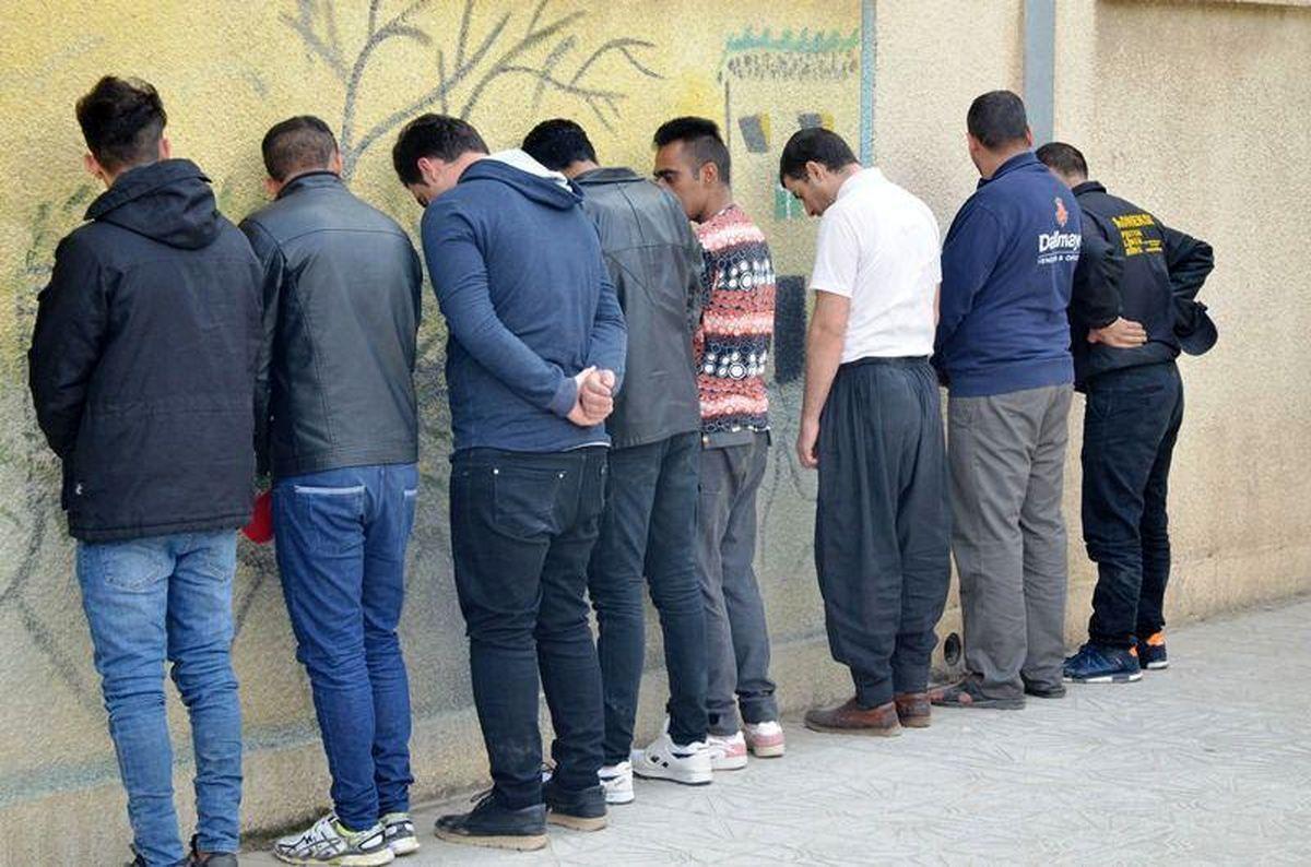 دستگیری 17 نفر از مخلان نظم و امنیت عمومی در فلاورجان