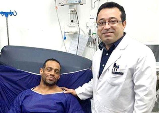 آخرین وضعیت قهرمان پرورش اندام بستری در بیمارستان امام(ره) اهواز