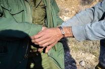 یک متخلف شکار در پارک ملی کلاه قاضی دستگیر شد