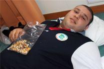وزنه بردار ملی ایران در بیمارستان بستری شد