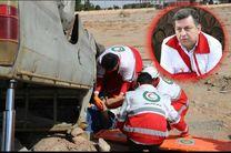 امدادرسانی هلال احمر استان یزد به 90 مورد حادثه در سه ماهه نخست امسال