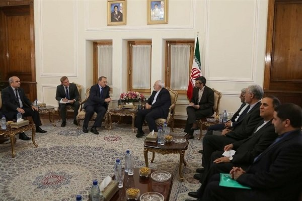 فرستاده ویژه پوتین با ظریف دیدار کرد