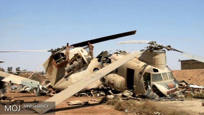 سقوط بالگرد در امارات دو کشته داد