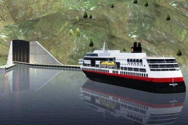 ساخت نخستین تونل ویژه کشتی ها در نروژ