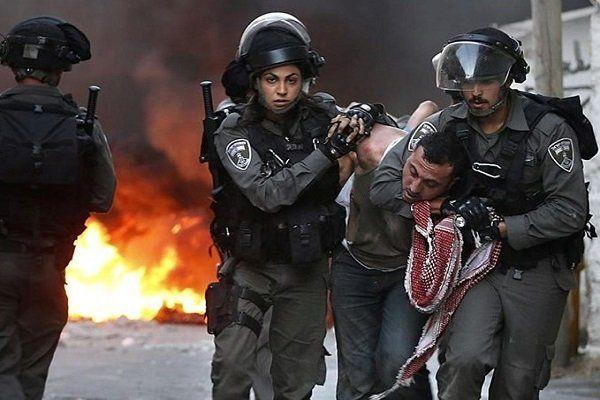 سرکوب زندانیان فلسطینی توسط نظامیان رژیم صهیونیستی