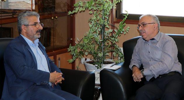 دیدار نمانیده مردم لاهیجان و سیاهکل با مدیرعامل گاز گیلان