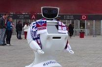 ربات بادیگارد برای محافظت از هواداران فوتبال