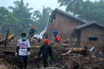 تلفات سیل و رانش زمین در اندونزی به 68 نفر رسید
