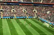 اولین گل جام جهانی  2018 توسط  یوری گازینسکی به ثمر رسید/ روسیه اولین گل را زد