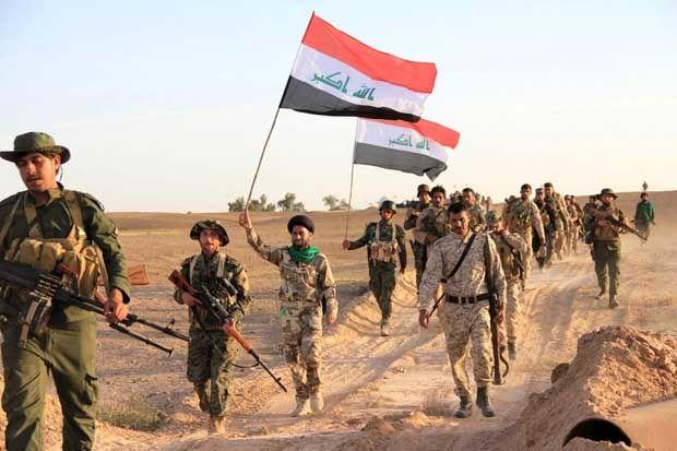 شهادت دو نیروی حشد شعبی در درگیری با عناصر داعش