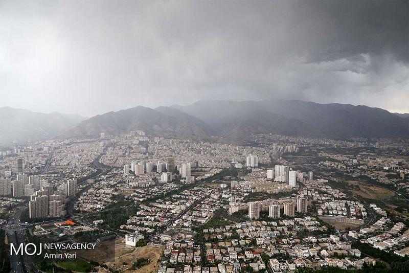 کیفیت هوای تهران در 19 مرداد سالم است