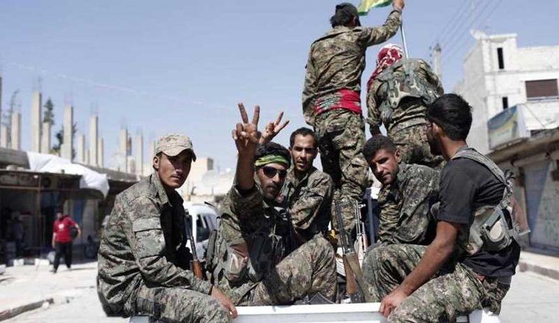 گروهک وابسته به داعش در سوریه توسط کردها منهدم شد