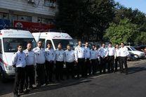 اعزام تیم فوریت های پزشکی گیلان به جنوب کشور