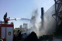 آتش سوزی در شهرک شکوهیه قم