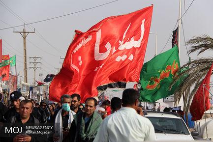 پیاده روی زائرین اربعین حسینی
