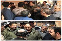 نماینده مقام معظم رهبری از مناطق زلزلهزده کرمانشاه بازدید کرد