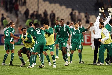 شکست سعودی ها در فوتبال آسیا