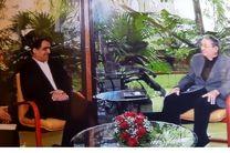 وزیر بهداشت پیام کتبی روحانی را به رئیس جمهور کوبا تقدیم کرد